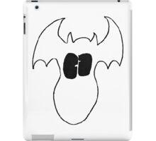 White Fatty Batty iPad Case/Skin