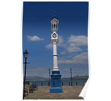 Clock - Custom House Quay Poster