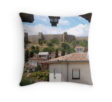 Samuil's Fortress Throw Pillow