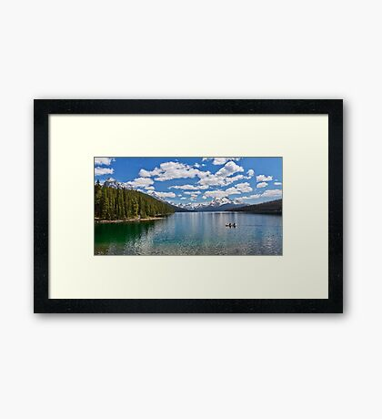 Maligne Lake Framed Print