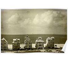 Beachfront Houses Poster