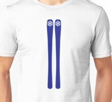 Downhill ski Unisex T-Shirt