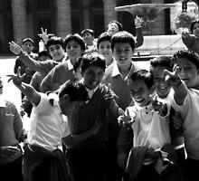 School boys by AmandaBerg