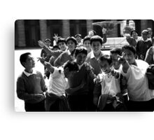 School boys Canvas Print