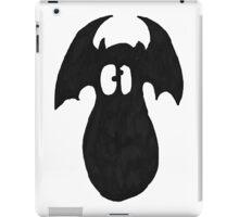 Black Fatty Batty iPad Case/Skin
