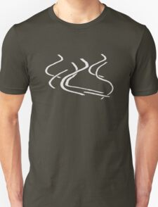 Ski snow tracks T-Shirt