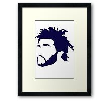 The Weeknd Framed Print