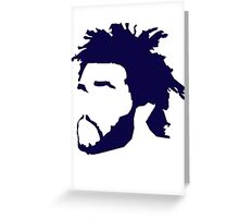 The Weeknd Greeting Card