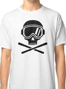 Skull crossed ski Classic T-Shirt