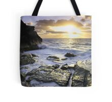 Bermuda's Rocky Shore Tote Bag