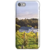 The Vineyard at Trial Bay, Kettering, Tasmania iPhone Case/Skin