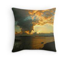 Great Cruz Bay Sunset, St.John Throw Pillow