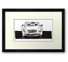 Cars, cars, cars. Framed Print
