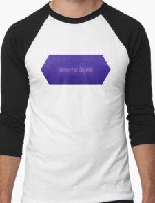 Immortal Object Men's Baseball ¾ T-Shirt