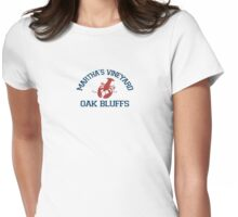 Oak Bluffs - Martha's Vineyard.  Womens Fitted T-Shirt