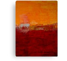Red and Yellow No 32 Canvas Print