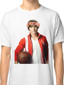 Zac Efron Flower Crown Classic T-Shirt