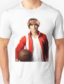 Zac Efron Flower Crown T-Shirt