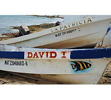 Dos Boats Photographic Print