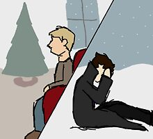 A Post-Reichenbach Christmas by BerityBaker