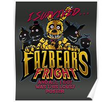 Fazbear's Fright Poster