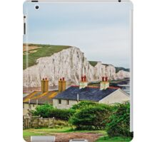 Coastguard Cottages at Seven Sisters #2, Seaford, England iPad Case/Skin
