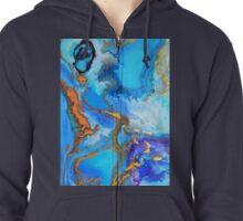 Water World Zipped Hoodie
