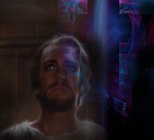 Redeemer jesus christ religious christian cross by JackieFlaten