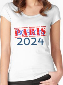 Against Boston 2024 Women's Fitted Scoop T-Shirt