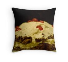 Disaster into triumph... Throw Pillow