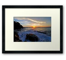 Blink ... Framed Print