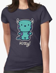 Kitty! Womens Fitted T-Shirt