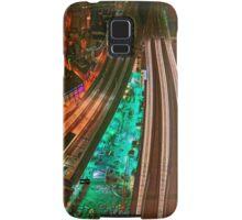 The Railways and The City, London, England Samsung Galaxy Case/Skin