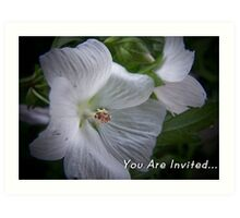 You are Invited... Art Print