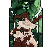 Nidalee, the Bestial Huntress by WinterWolfMedia