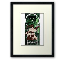 Nidalee, the Bestial Huntress Framed Print