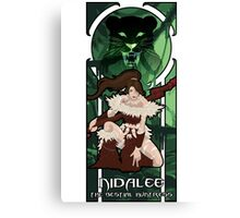 Nidalee, the Bestial Huntress Canvas Print
