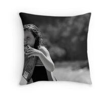 munchies Throw Pillow