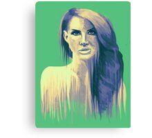 Paint Portrait #1 Canvas Print