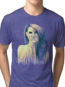 Paint Portrait #1 Tri-blend T-Shirt