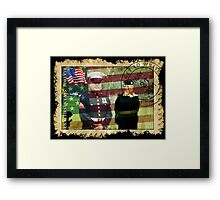 † ❤ † ❤ † ❤ † ❤Honour The Fallen † ❤ † ❤ † ❤ † ❤  Framed Print