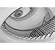 Winterthur spiral staircase Photographic Print