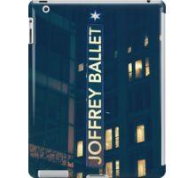 Joffrey Ballet Sign iPad Case/Skin