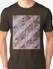 Log-Rolling Log Cabin Quilt T-Shirt