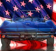 American Corvette by George Lenz