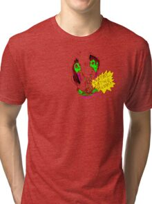 'Zombie Dating Agency' Tri-blend T-Shirt