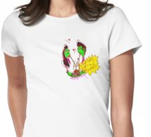 'Zombie Dating Agency' Womens Fitted T-Shirt