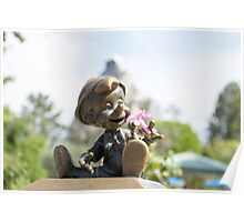 Pinocchio loves Spring!  Poster