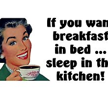 Breakfast In Bed by CafePretzel