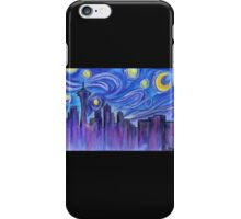 Starry Night Over Seattle iPhone Case/Skin